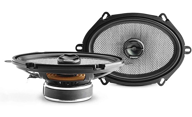 focal ac access 5x7 2-way coaxial speakers