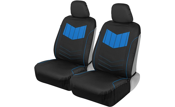 motor trend sport faux leather car seat covers