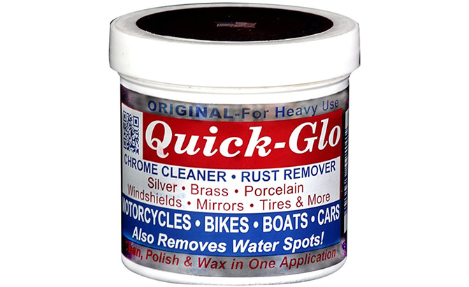 quick-glo chrome cleaner and rust remover