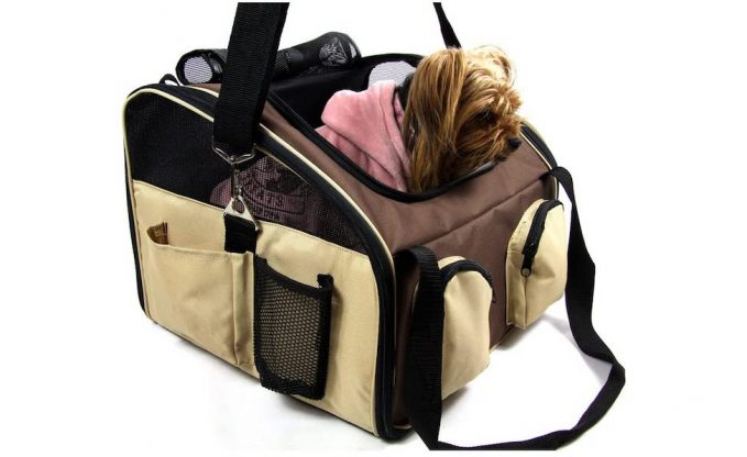 Heartland Pet Products Large Soft Sided Dog Car Seat:Carrier