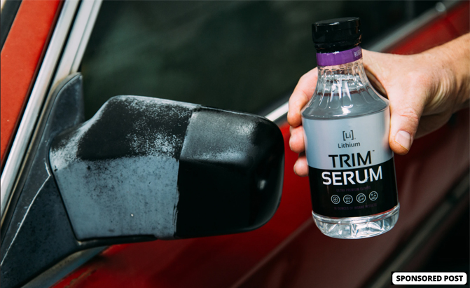 Lithium Trim Serum can help you fight back against fading plastic and restore your trim's health.