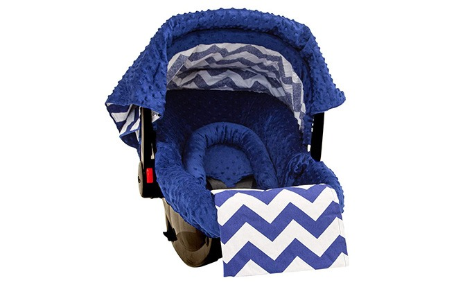 jagger cotton minky infant car seat cover