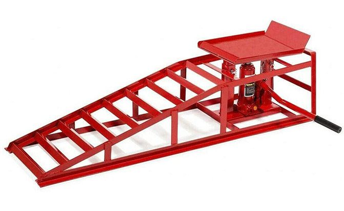 suxidi car ramps hydraulic lift