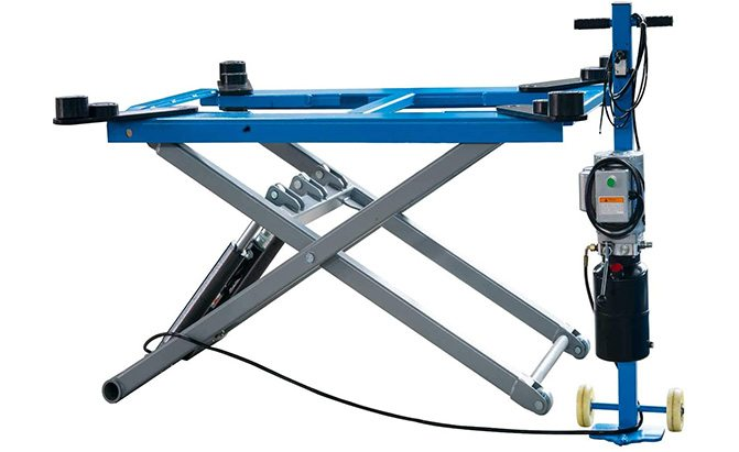xk rise scissor automotive lift