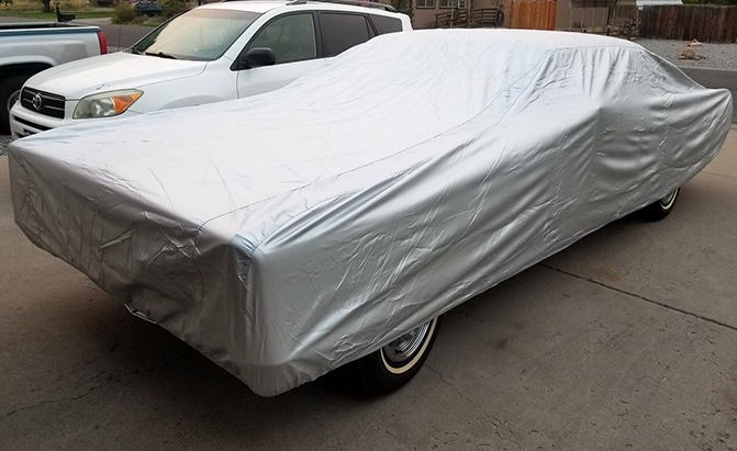 The Platinum Shield Car Cover from CarCovers.com offers maximum weather protection in a lightweight, durable package, making it one of the best outdoor car covers on the market.