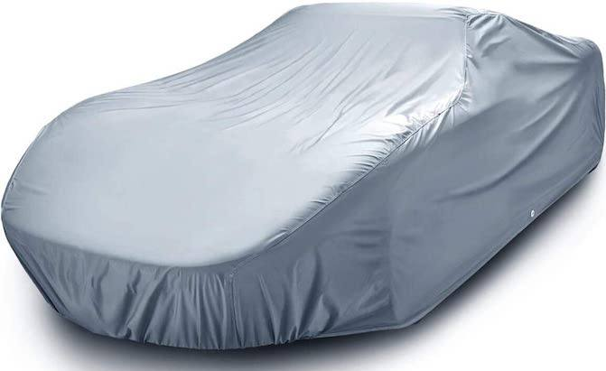 Capable of handling extreme weather, the iCarCover All-Weather Car Cover is one of the top outdoor car covers.