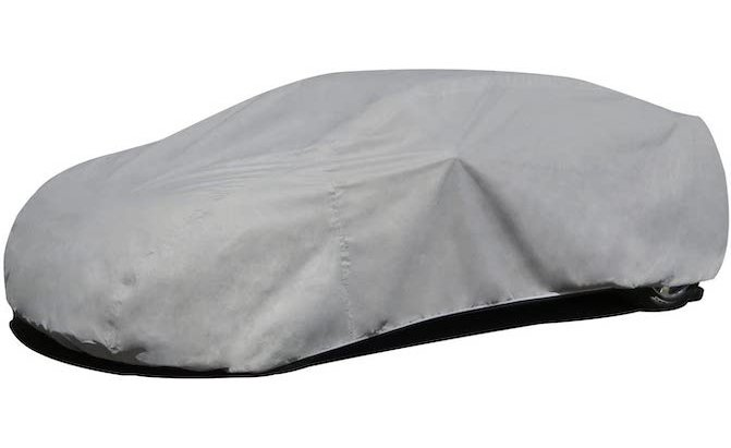 If you live in a moderate climate, or if you park your car in a carport, the Budge RB-3 Rain Barrier Car Cover is a great budget option.