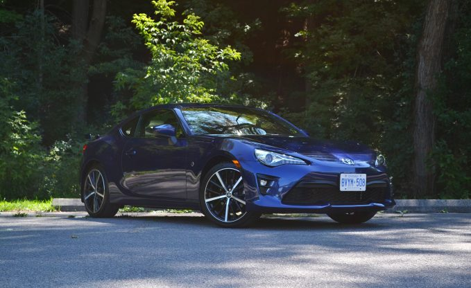 2020 Toyota 86 GT in Blueprint front three-quarter static shot review