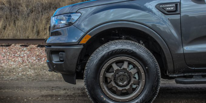 The Atturo Trail Blade A/T's 3-ply sidewall delivers plenty of load support and rugged durability.