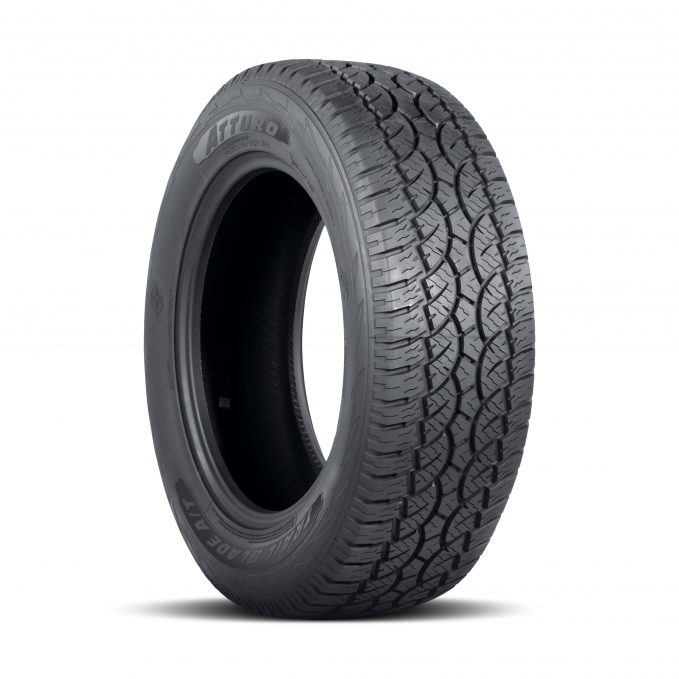 The Atturo Trail Blade A/T is also perfectly adept on-road, thanks to a durable, long-wearing tread compound formulated to provide years of everyday usability.