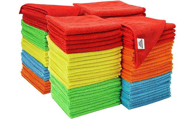 S&T Inc Microfiber Cleaning Cloths is one of the best car towels around.