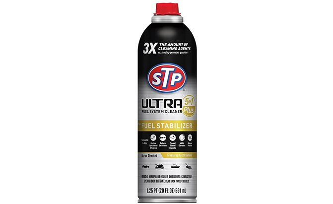 stp ultra 5-in-1 fuel system cleaner and stabilizer