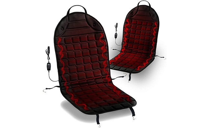 zone tech heated car seat cover