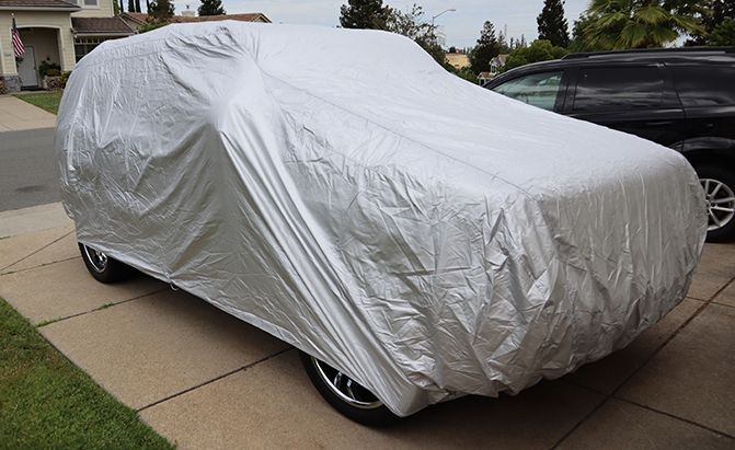 The top-rated Platinum Shield SUV Cover from CarCovers.com is one of the best ways to protect your trusty SUV.