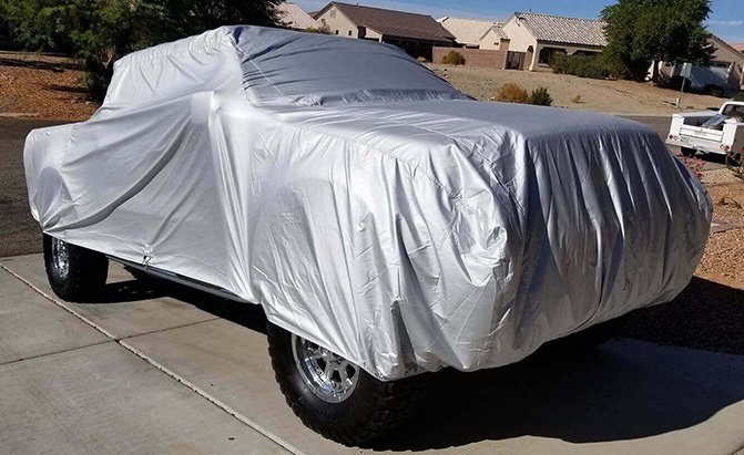 CarCovers.com's Platinum Shield Truck Cover answers so many of the concerns of truck owners in one single product.