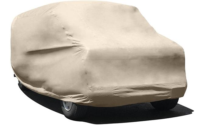 Available in three sizes, the Budge Protector IV Van Cover is a reliable weatherproof solution for van storage.