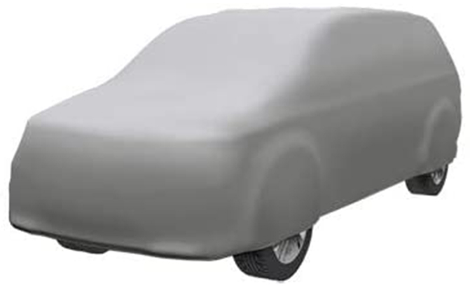 The CoverMaster Gold Shield Van Cover comes in vehicle-specific fits, so you can get the exact right cover for your van.