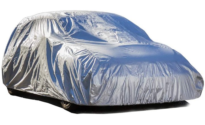 Heavy weather demands a heavy-duty SUV cover. Enter the EliteShield ShieldAll Weatherproof Premium SUV cover, one of the best SUV covers on the market.