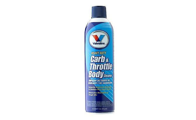 Valvoline Heavy Duty Carb & Throttle Body Cleaner