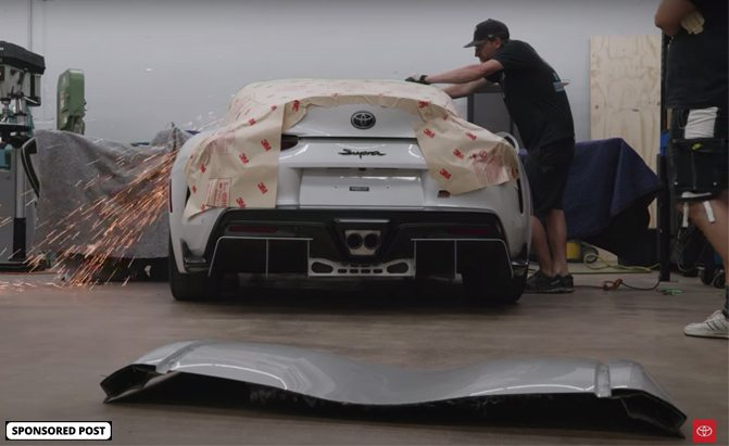 A look at Toyota's Supra Sport Top build
