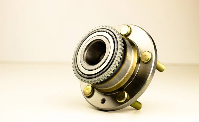 A closer look at a wheel bearing assembly