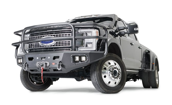 WARN Ascent Series Bumpers