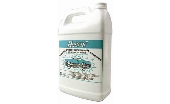 Rusfre Spray-On Rubberized Undercoating