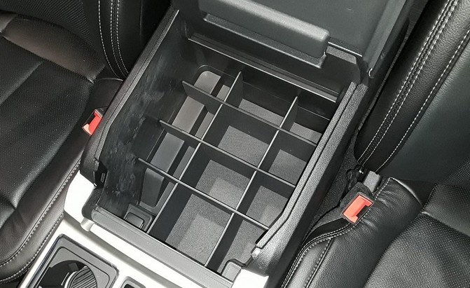 Vehicle OCD Center Console Organizer for 2015-2020 Ford F-150