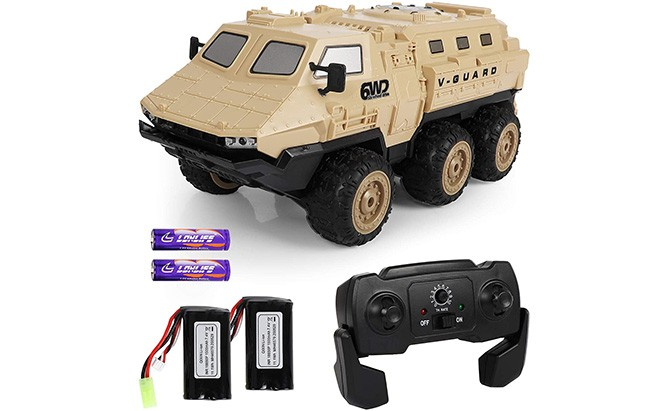 ep exercise n play rc army truck