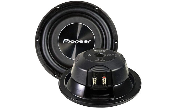 pioneer shallow mount subwoofer ts-a2500ls4