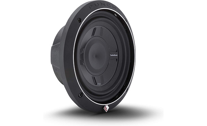 rockford fosgate punch series shallow mount subwoofer p3sd2-8