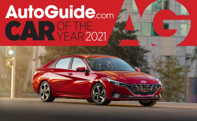 AutoGuide 2021 Car of the Year Hyundai Elantra