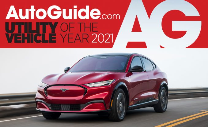AutoGuide 2021 Utility Vehicle of the Year Ford Mustang Mach-E