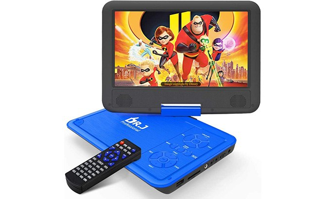 "dr. j 11.5"" portable dvd player"