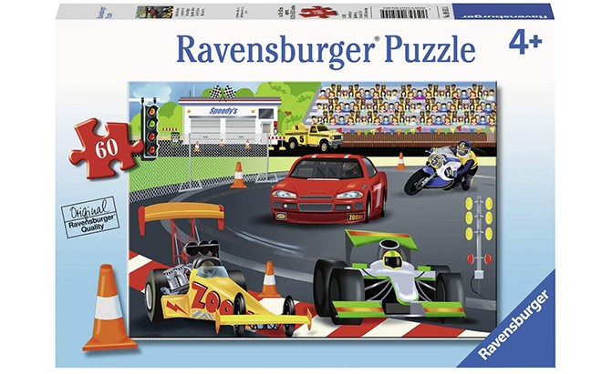 ravensburger day at the races puzzle