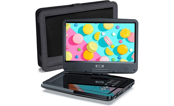 "sunpin 12.5"" portable dvd player"