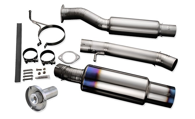 tomei expreme ti y-pipe back exhaust nissan 350z