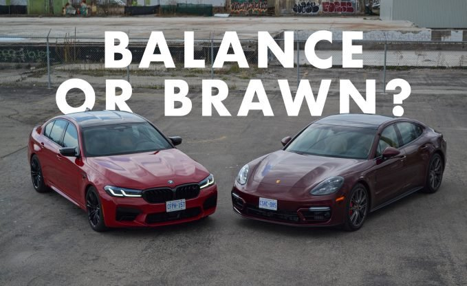 BMW M5 Competition vs Porsche Panamera GTS Comparison