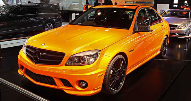 Mercedes Benz Concept 358 Based On C63 Amg Debuts At