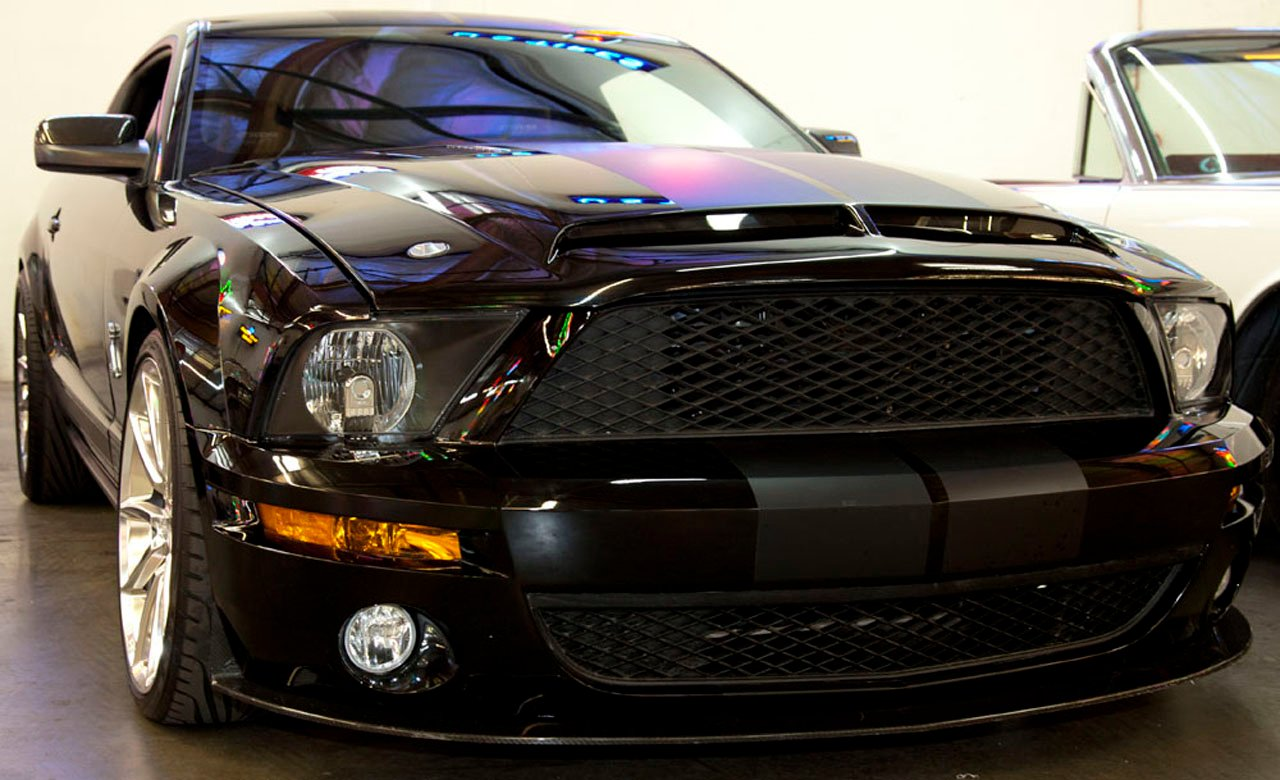 knight rider ford mustang k i t t car heading to the auction block news. Black Bedroom Furniture Sets. Home Design Ideas