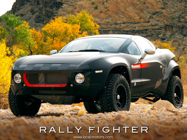 local motors presents open source vehicle rally fighter news. Black Bedroom Furniture Sets. Home Design Ideas