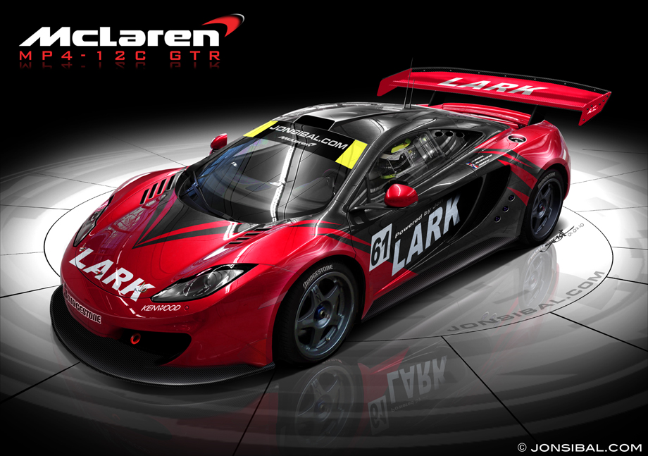 McLaren MP4-12C GT3 and GT2 Race Cars Coming in 2012, 2013 ...