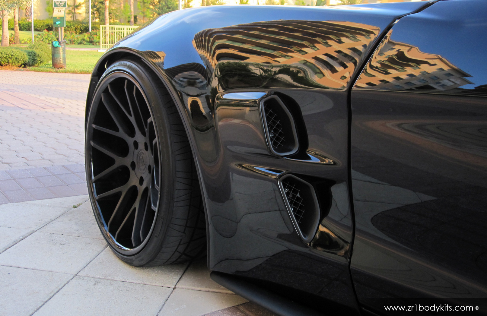 Zr6x Extreme Widebody Corvette Body Kit Delivers C6 R