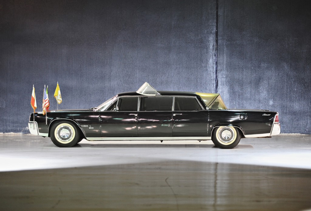 1964 lincoln continental popemobile news. Black Bedroom Furniture Sets. Home Design Ideas