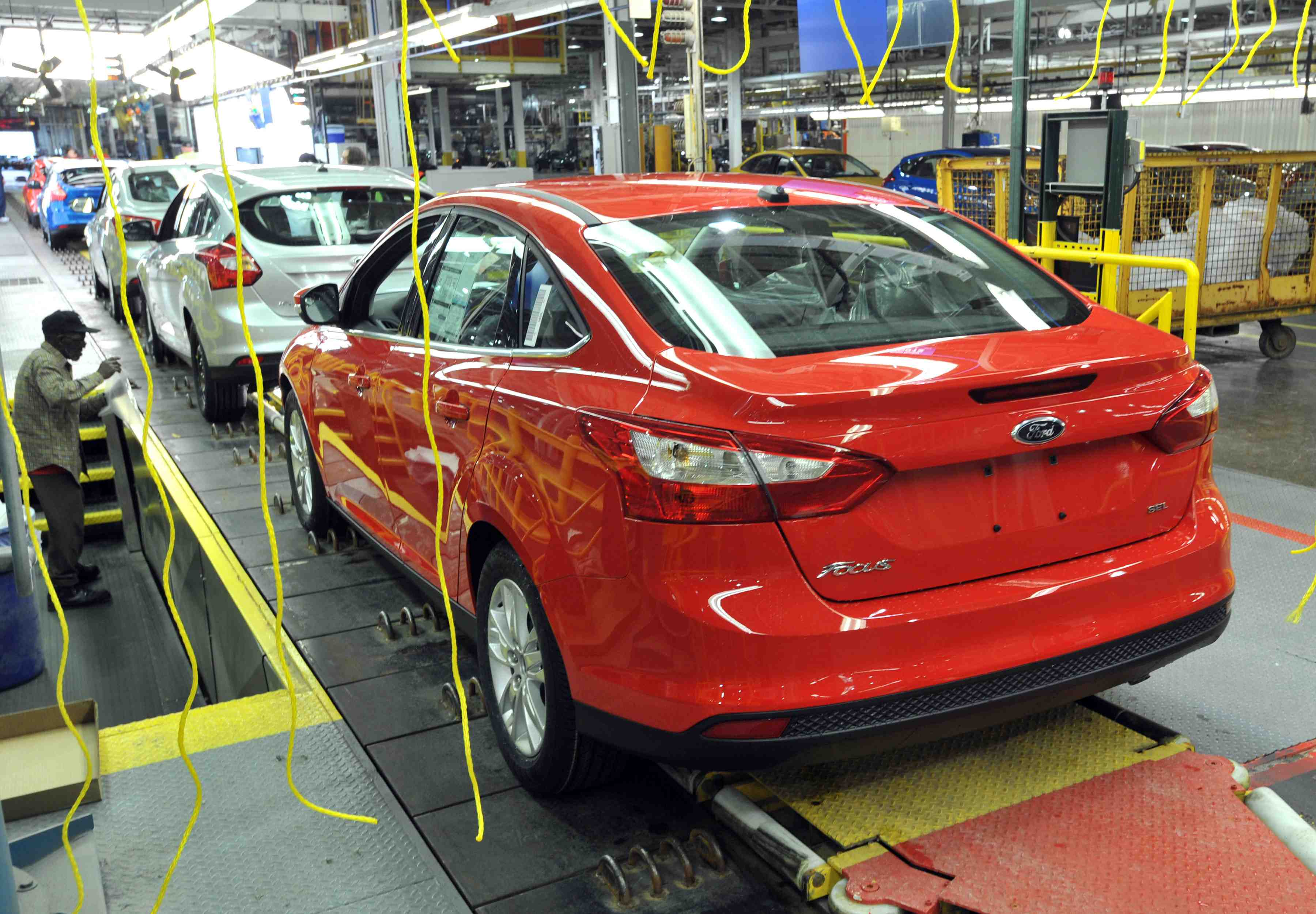 Company Celebrated The Launch Of 2017 Ford Focus With Employees Dealers Suppliers Media And Other Invited Guests At Michigan Embly Plant
