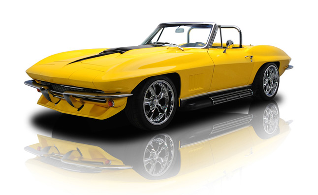 1967 corvette stingray packs 561 hp of modern v8 muscle retro resale. Cars Review. Best American Auto & Cars Review