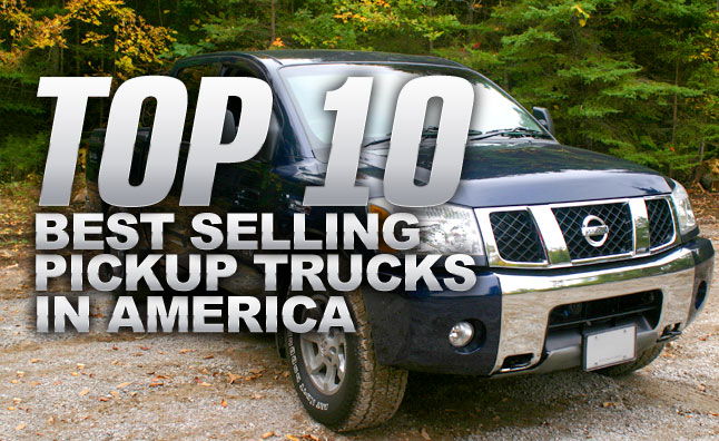 top 10 best selling pickup trucks in america news. Black Bedroom Furniture Sets. Home Design Ideas