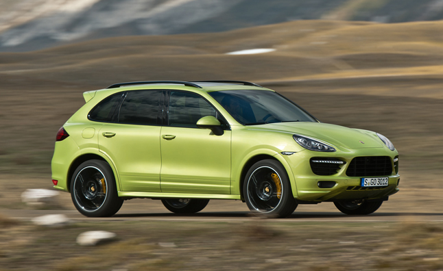 2013 Porsche Cayenne GTS Revealed With 420 Lime Green Horsepower »  AutoGuide.com News