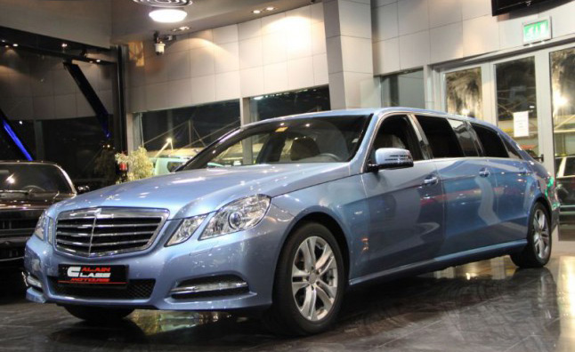 Mercedes 6 door limo for sale for Mercedes benz limousine price