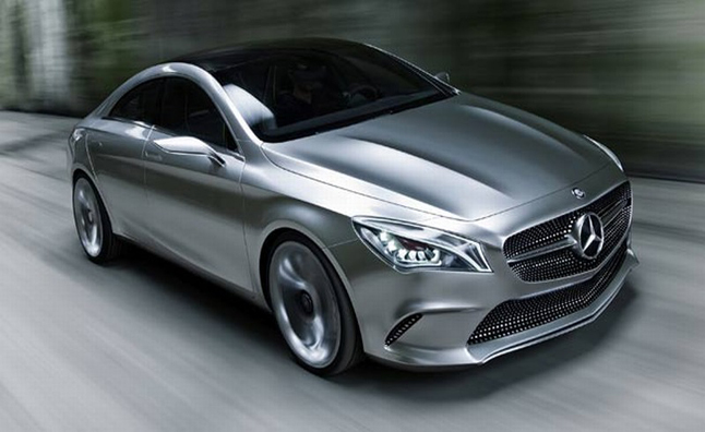 Mercedes benz concept style coupe pictures leak previews for New mercedes benz cla